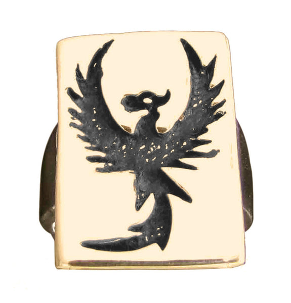 Pheonix Rising Ring in Bronze