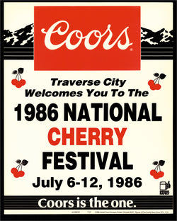 1986 National Cherry Festival Print