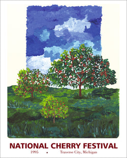 1995 National Cherry Festival Print