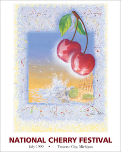 1999 National Cherry Festival Print