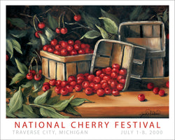 2000  National Cherry Festival Print