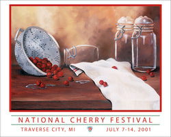 2001 National Cherry Festival Print – 75th Anniversary