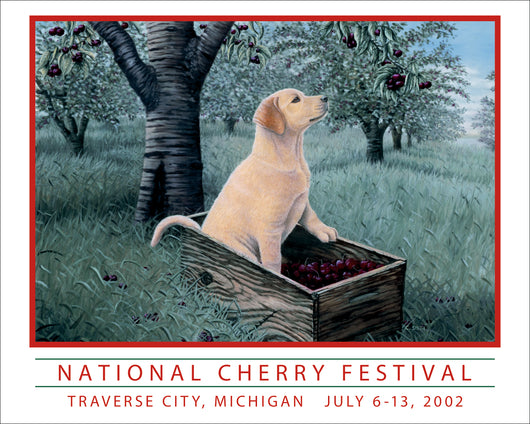 2002 National Cherry Festival Print