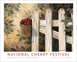 2004 National Cherry Festival Print