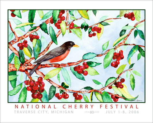 2006 National Cherry Festival Print
