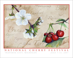 2007 National Cherry Festival Print