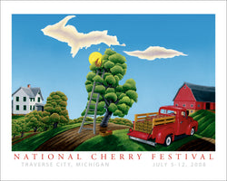 2008 National Cherry Festival Print