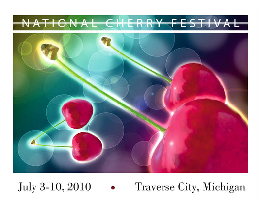 2010 National Cherry Festival Print