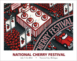 2012 National Cherry Festival Print