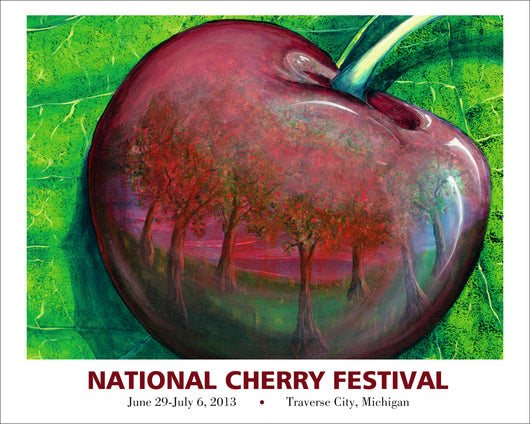 2013 National Cherry Festival Print
