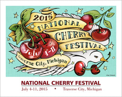 2015 National Cherry Festival Print