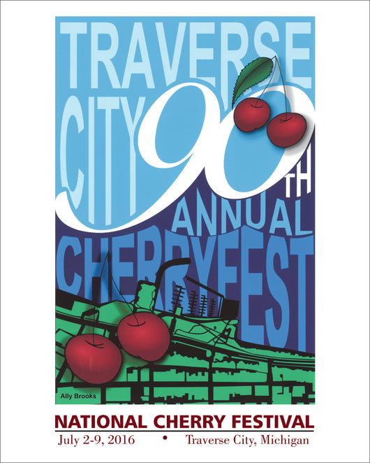 2016 National Cherry Festival Print