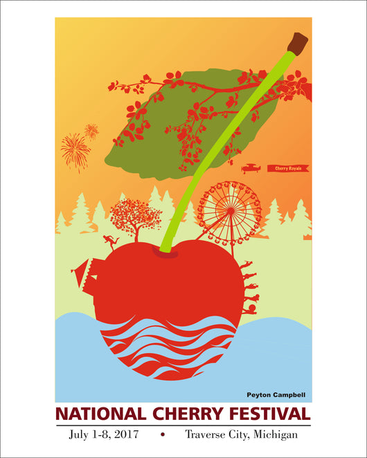 2017 National Cherry Festival Print - Limited Edition