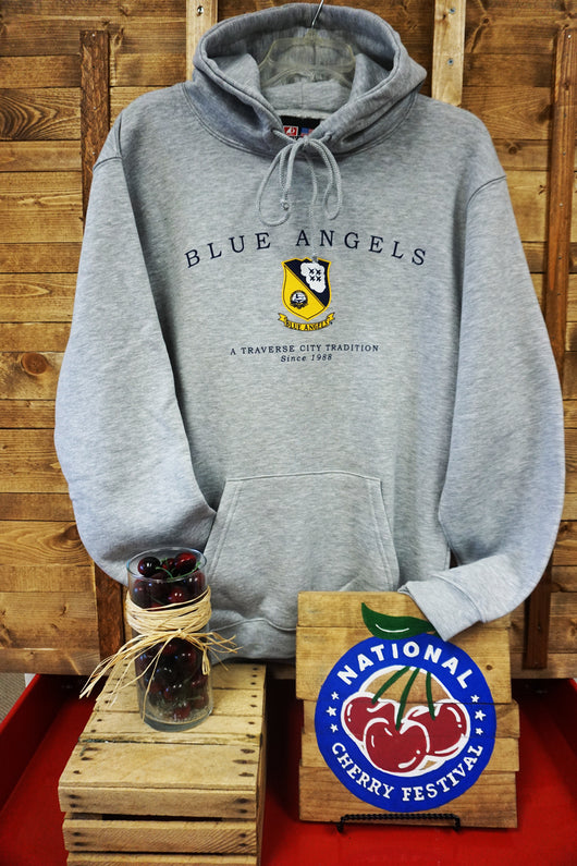U.S. Navy Blue Angels Pullover Hooded Sweatshirt