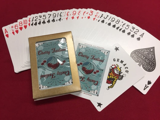 Cherry Festival Playing Cards