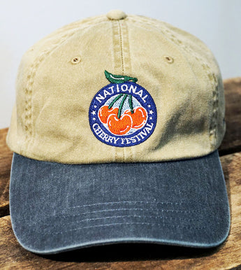 National Cherry Festival Embroidered Cap