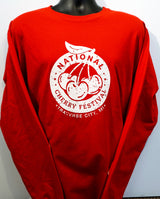 National Cherry Festival Logo Long Sleeve Tee