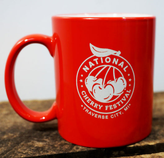 National Cherry Festival Ceramic Coffee Mug