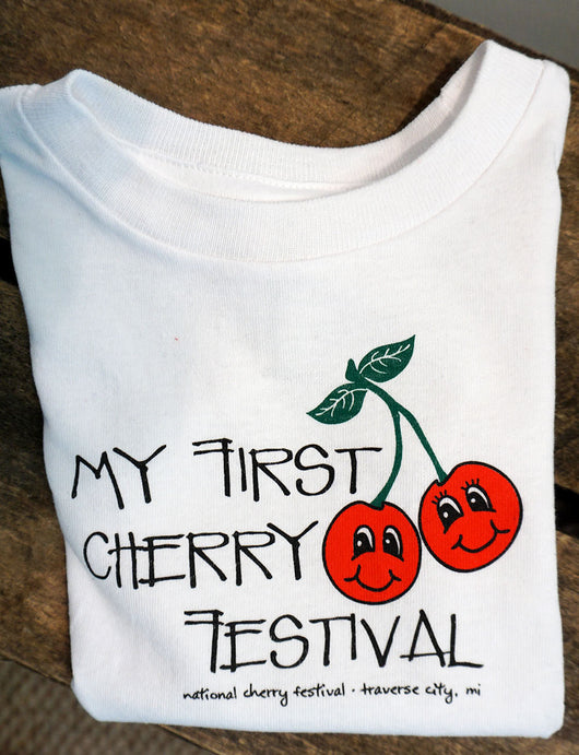 My First Cherry Festival Tee