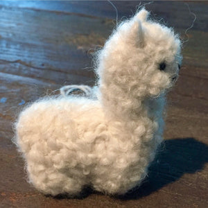 Alpacadorable Fiber Ornaments