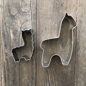 Alpaca Shaped Cookie Cutters