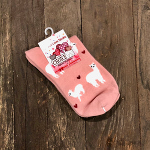 Alpaca LOVE Cotton Socks- ankle height
