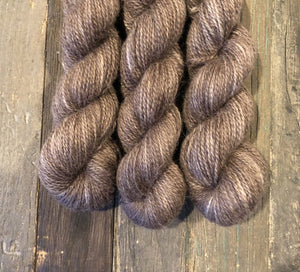 LGF hand dyed yarn- chocolate