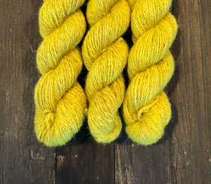 LONG GAME FIBER Dyed Yarn- single color