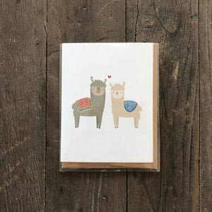 Alpaca LOVE LTS Greeting Card