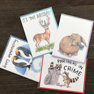 Paper Wilderness Greeting Cards