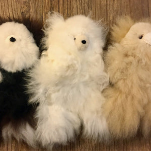 100% Alpaca fur teddy bears