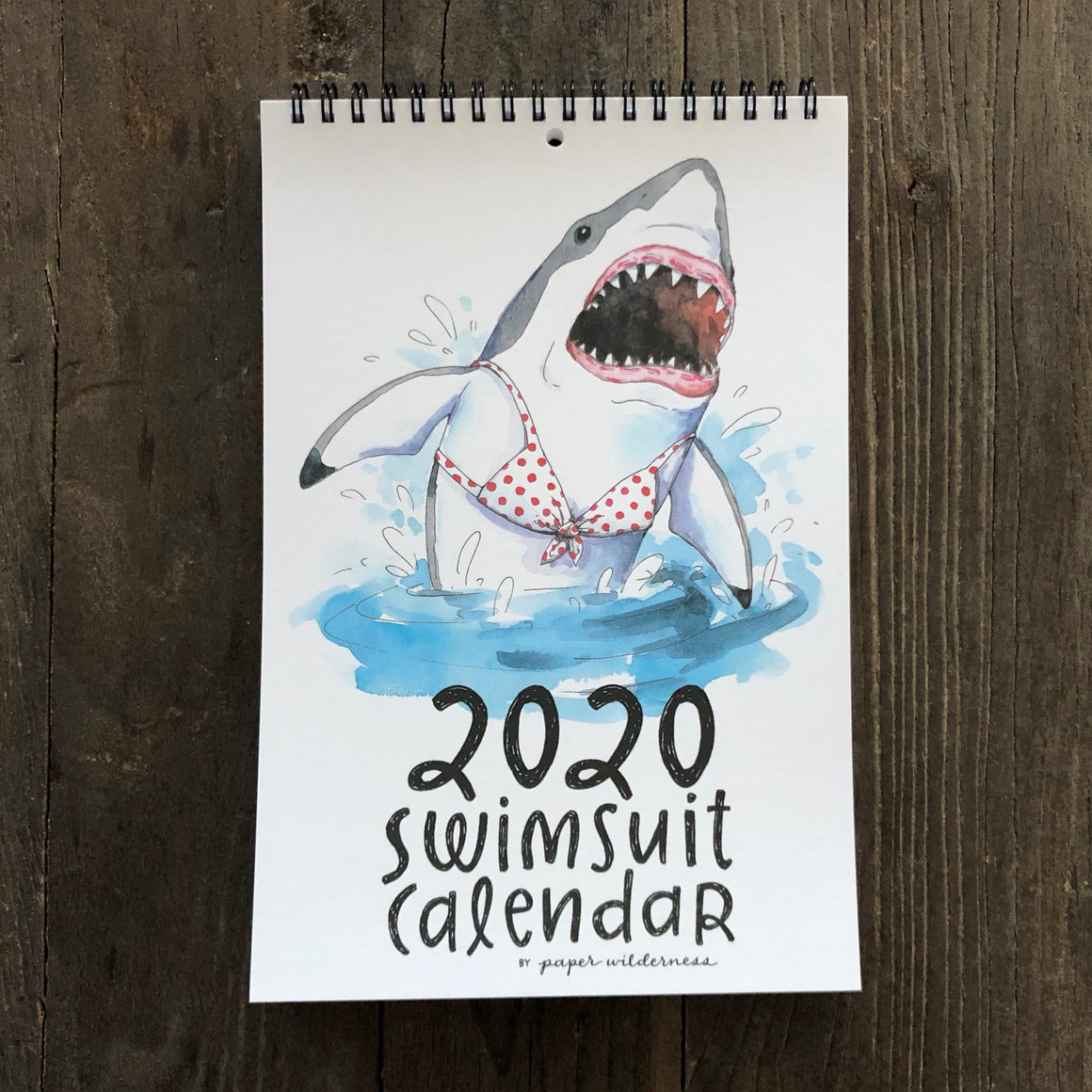 Paper Wilderness 2020 Swimsuit Calendar