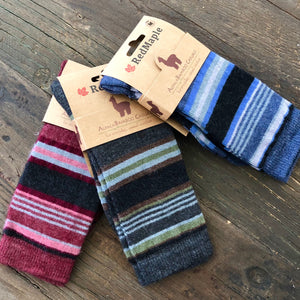 STRIPED Dress Socks-Alpaca/ Bamboo Blend