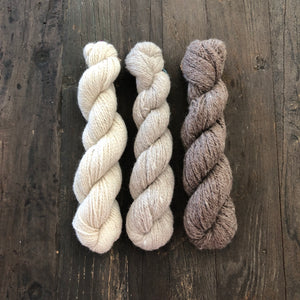 LONG GAME FIBER 100% Alpaca Yarn- UN-DYED
