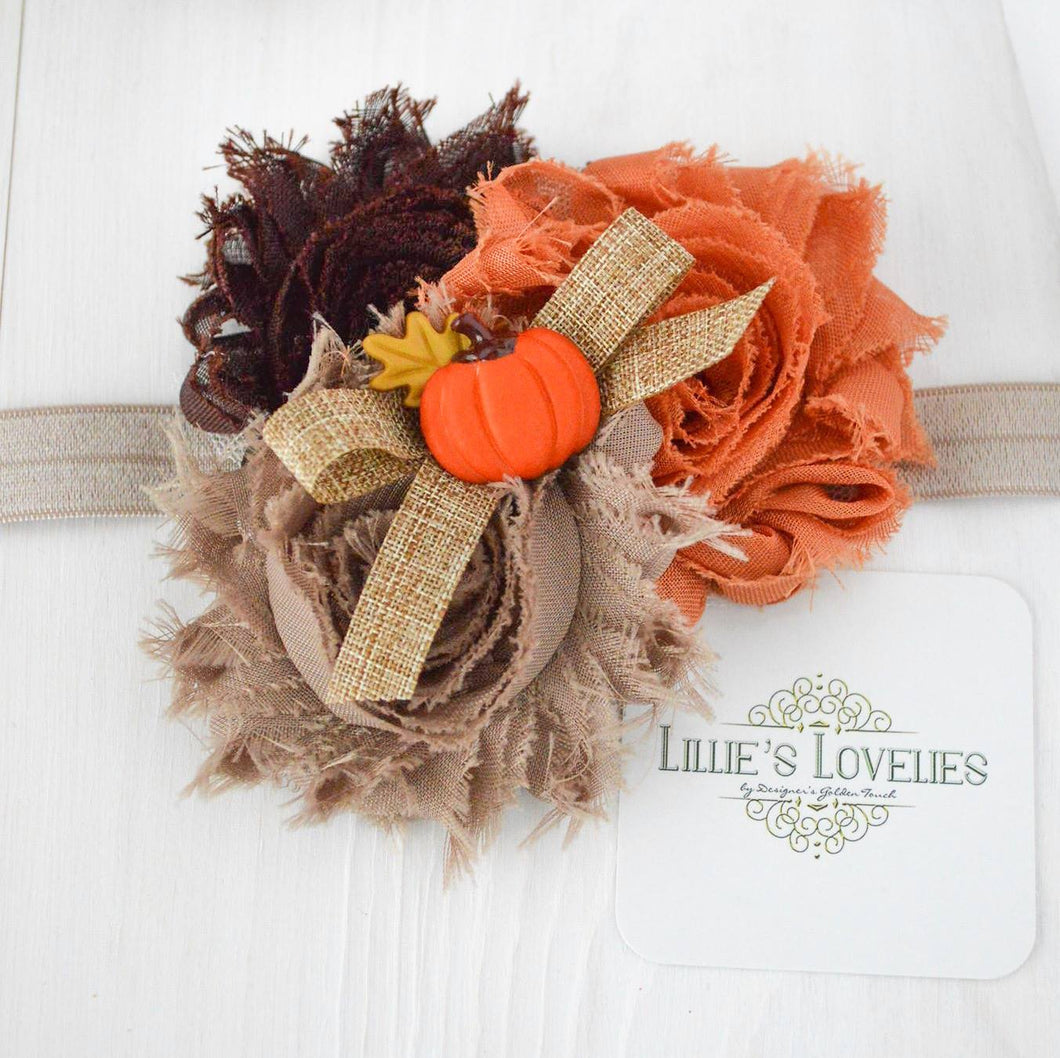 ~*Pumpkin Picking*~ Headband or Clip