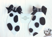 Dalmatian Dog Animal Ears Clip Set