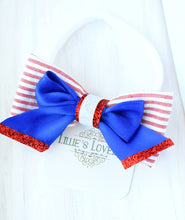 "~*Lil' Patriot~ 3.5"" Clip or Nylon Headband"