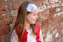 ~*Candy Cane Swirl*~ Christmas Headband or Clip
