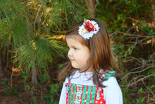 ~*Poinsettia Perfection*~ Christmas Headband or Clip