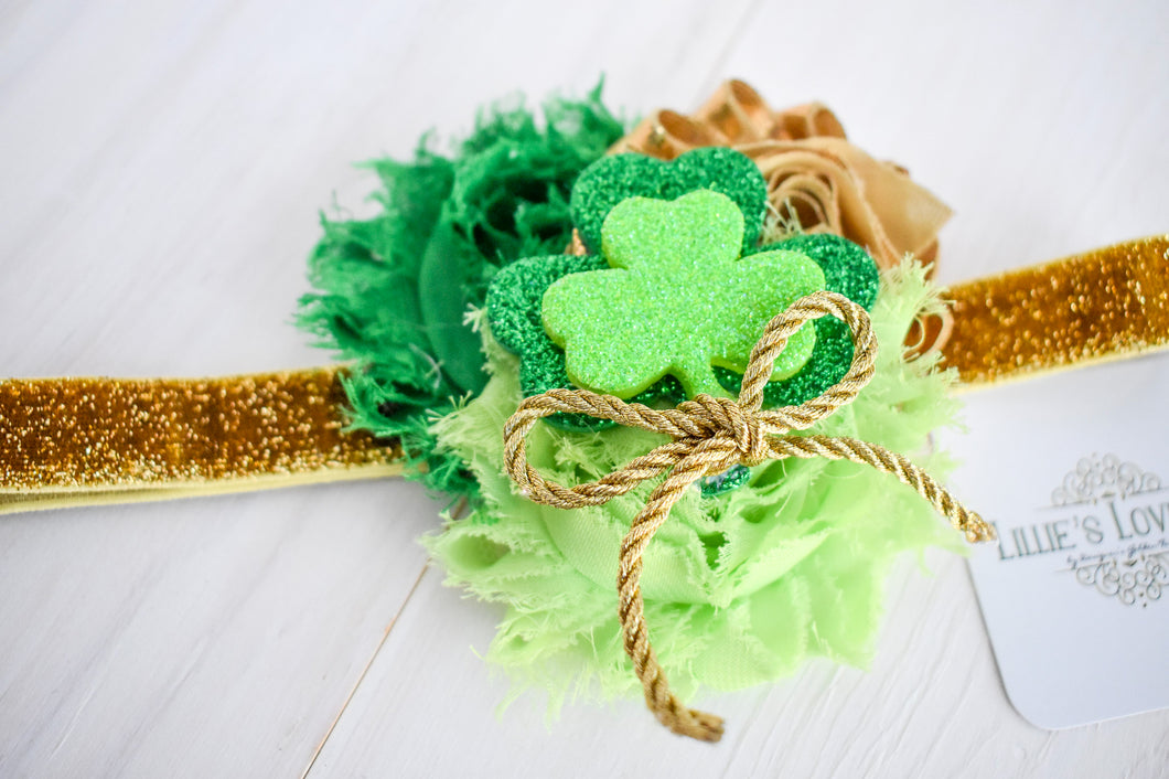 ~*Lucky You*~ St. Patrick's Day Headband or Clip