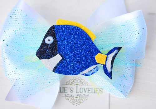 ~*Keep Swimming*~ Dory Inspired Headband or Clip