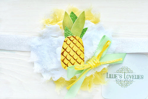 ~*Pineapple Punch*~ Headband or Clip