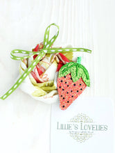 ~*Sweet as Strawberries*~ Rolled Rose Headband or Clip