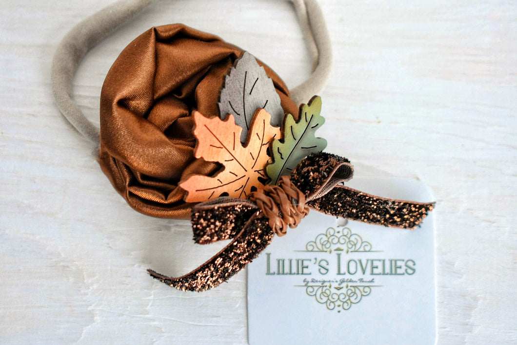 ~*Fall Foliage*~ Headband or clip