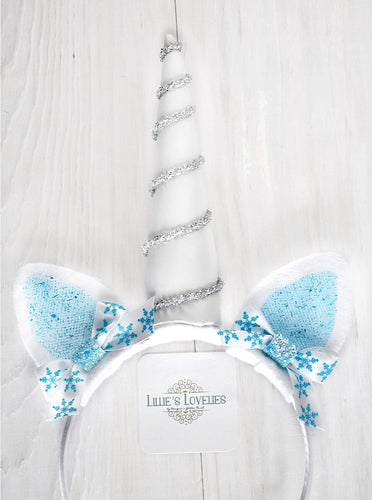 Frozen Themed Unicorn Animal Ears