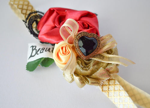 ~*Little Beauty*~ Beauty and the Beast Headband or Clip