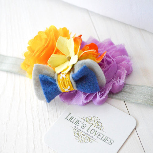~*Sweet Little Lady*~ Made to Match Matilda Jane Headband or Clip