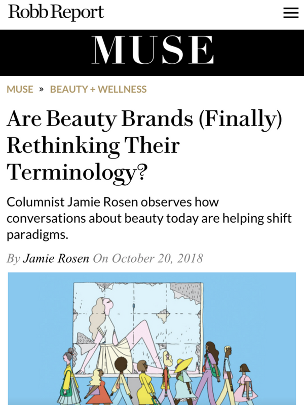 Are Beauty Brands (Finally) Rethinking Their Terminology?