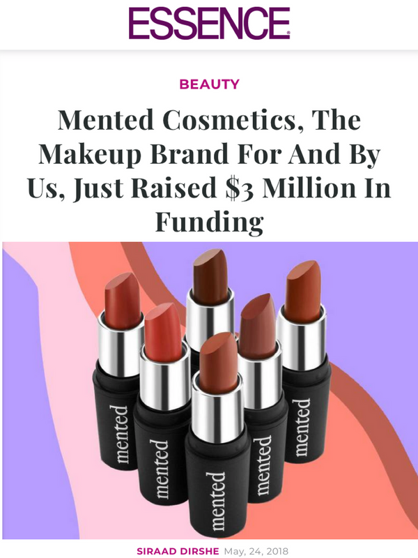 Mented Cosmetics, The Makeup Brand For And By Us, Just Raised $3 Million In Funding