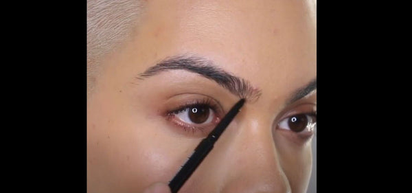 Mented Mentor Kristina Shows You How to Fill In Your Eyebrows